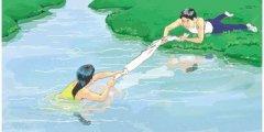 防溺水安全教育,对孩子的安全新贝一直记在心里